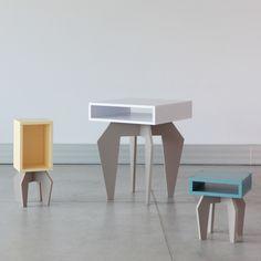 Wystawę obiektów zrealizowanych w trakcie warsztatów studentów wrocławskiej ASP 3xS (siedzisko/stolik/szafka), można było zobaczyć podczas wrocławskiej NOCY Z DESIGNEM 2014.