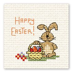 Mini Cross Stitch - Easter