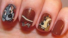Best Valentines nail design ever!! (79 Wonderful Disney Nail Art Designs)