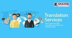 Once you have decided to go multilingual the most time consuming and difficult task is to trusting an external source. Let Mars Translation help you through this process. Read this blog now!  #MarsTranslation #ServiceProvider #Languages #Translation #Localization #NativeTranslators #TranslationServices