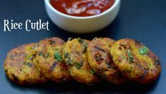 Rice Cutlet from Left Over rice|Rice Tikki|Vegetable Rice Cutlet - indian veggie delight