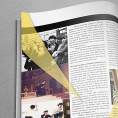 Afbeeldingsresultaat voor magazine layout many photos