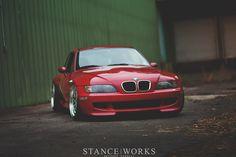 The Lady in Red - Kacper Krajewski's 1999 BMW M Coupe