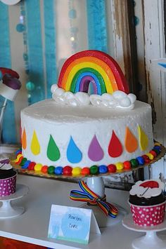 April Showers & Rainbow Party - Kara's Party Ideas - The Place for All Things Party