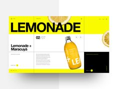 Refresh drink shop by Rocío Diaz for BONT® on Dribbble Postcard Layout, Grid Layouts, Peterborough, Saint Charles, Show And Tell, Web Design Inspiration, Event Design, Branding Design, Graphic Design