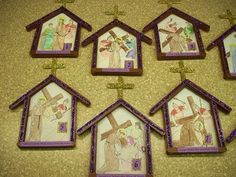 You& find over 65 different Lenten Arts and Crafts ideas here, with pictures of the projects and the site names to the tutorials. You& find this article useful if you teach a Sunday school class. Catholic Lent, Catholic Crafts, Church Crafts, Catholic Icing, Catholic Sacraments, Easter Art, Easter Crafts, Easter Ideas, Easter Eggs