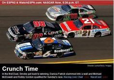 Whoo hoo for Michael McDowell for driving the KLOVE NASCAR car so fast that he qualified for the Daytona 500!