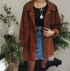 monday morning outfit ideas to look polished and stylish 7 ~ my. monday morning outfit ideas to lo. Retro Outfits, Mode Outfits, Fall Outfits, Vintage Outfits, Casual Outfits, Fashion Outfits, Fashion Fashion, Grunge Winter Outfits, Hipster Girl Outfits