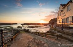 Staithes Summer Sunrise At The Cod And Lobster - The North Yorkshire Gallery