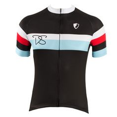 Rigby Black Cycling Jersey