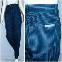 The jeans had to be Jordache, Lee, Gloria Vanderbilt, Levis or Calvin Kleins, right? Striped and little patterns with small PLEATS were very popular.