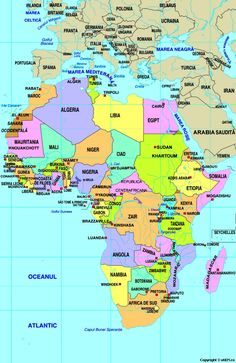 Africa, South Sudan is missing in the map. Waiting to get update of new World Map :) ; Time For Africa, All About Africa, Out Of Africa, East Africa, Tanzania, Kenya, Angola Africa, African Safari, Africa Travel