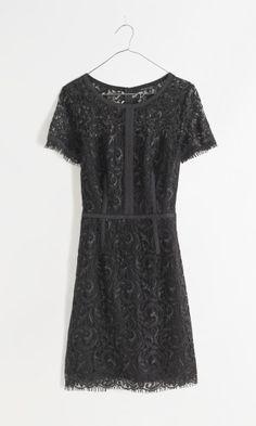Madewell night lace sheath.