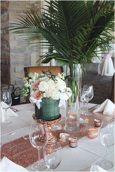 Rose Gold & Blush Wedding at Lighthouse Sound Ocean City // Little Miss Lovely Floral Design