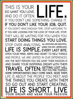 Love this... I even have this in a frame in my bedroom!