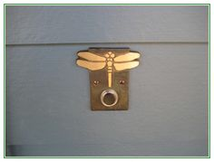 Excellent idea on Doorbell Cover Cute