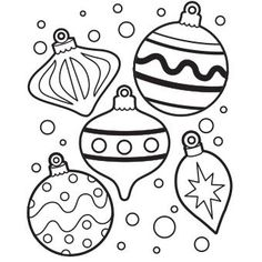 Free Christmas Lights Coloring Pages Printable