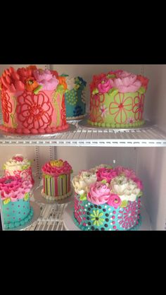 Buttercream cakes by the white flower cake shoppe