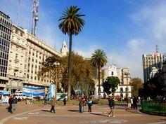La Plaza de Mayo, otro de los referentes cuando hablamos de Buenos Aires