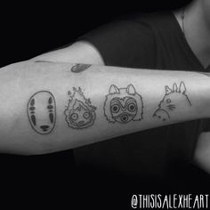 Studio Ghibli Tattoo - Alex Heart by helloalexheart on DeviantArt
