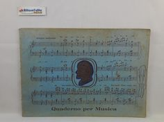 J 5445 VECCHIO QUADERNO PER MUSICA - http://www.okaffarefattofrascati.com/?product=j-5445-vecchio-quaderno-per-musica