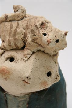 anne-sophie gilloen , sculpture céramique