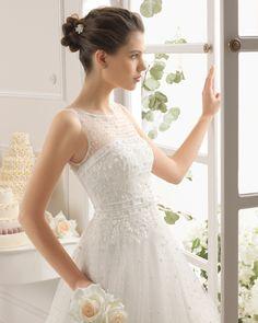 Astan vestido de novia Aire Barcelona
