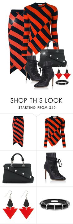 """""""Altuzarra Bag and Shoe"""" by gigisstyle ❤ liked on Polyvore featuring Altuzarra, Toolally and Fred Leighton"""