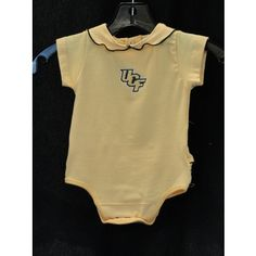 UCF Yellow Ruffled Onsie @ Gray's College Bookstore