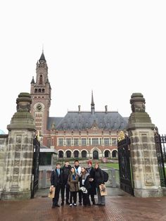 Always memorable visiting the International Criminal Court in The Haag and learning how American Andrew Carnegie helped fund this most important global Institution.