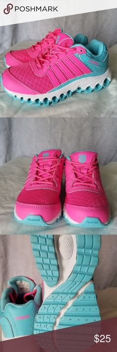 K-Swiss little girls shoes New without tags or box. Comfy athletic shoes. K-Swiss Shoes Sneakers