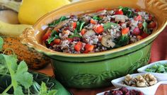 Wild Blend® Rice Pilaf with Mushrooms, Bell Peppers, and Spinach | Lundberg Family Farms