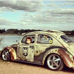 Classic Car News Pics And Videos From Around The World Vw Bugs, Vw Rat Rod, Kdf Wagen, Hot Vw, Rat Look, Vw Classic, Vw Vintage, Vw Beetles, Custom Cars