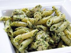 made this amazing chicken pasta pesto dish with our sauce. Our original pesto can seemingly be used with any protein and your favorite type of pasta for a quick, no mess no fuss lunch or dinner! Pesto Chicken Penne, Pesto Pasta, Pasta Salad, Basil Pesto, Creamy Chicken, Penne Pasta Recipes, Chicken Recipes, Pasta Sauces, Pesto Recipe