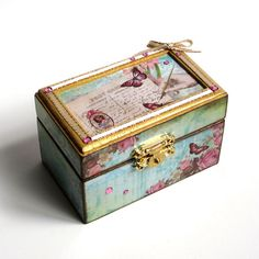 Ring+Box+Small+Decoupaged+Gift+Box+Keepsake+Box+by+rrizzart,+$22.00