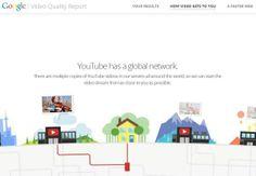 Google lanza herramienta para permitirá evaluar el servicio que prestan los ISP mediante el streaming de Youtube