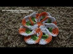 ₩₩₩ Flor em Crochê EURO FLOR