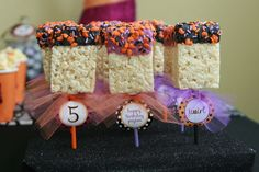 "Photo 24 of 47: Halloween Birthday party / Birthday ""Tricks, Treats and Tutus"" 