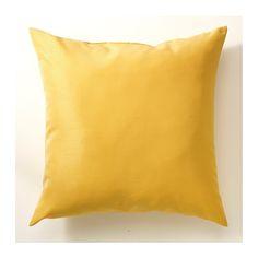 ULLKAKTUS Almofada IKEA O núcleo em espuma de poliuretano mantém a forma e oferece conforto.