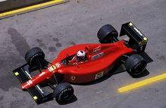 Alain Prost Ferrari 1990