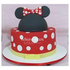 Montando minha festa: 40 ideias de bolos da Minnie Mouse!