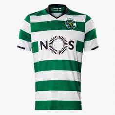 Sporting CP 2017-18 Season Home Sporting Lisbon Shirt [K649]