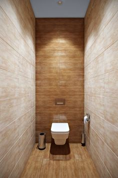 Small bathrooms may seem like a difficult design task to take on; however, these spaces may introduce a clever design challenge to add to your plate. Contemporary Bathroom Designs, Bathroom Design Luxury, Modern Bathroom Design, Small Toilet Design, Small Toilet Room, Beautiful Small Bathrooms, Tiny Bathrooms, Photo Wall Design, Minimalist Toilets