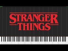 Stranger Things Theme [Piano Tutorial] (Synthesia) // Piano Man - YouTube