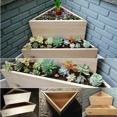 Corner planters