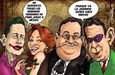 Toons Mag Español: Caricatura Humor Grafico, Spanish, Joker, Movie Posters, Movies, Fictional Characters, Caricature, Cartoon, Film Poster