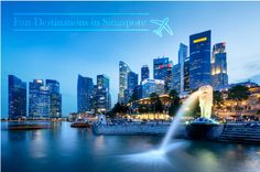 Known as one of the brightest and most vibrant cities in Asia, Singapore consist lots of shopping and tourist destinations to choose from!