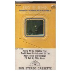 Original Golden Hits - Volume 2 by Jerry Lee Lewis from Sun Stereo Cassette…