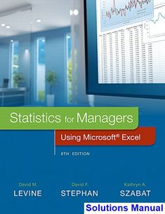 50 best solution manual dowload images on pinterest key manual statistics for managers using microsoft excel 8th edition levine solutions manual test bank solutions fandeluxe Gallery