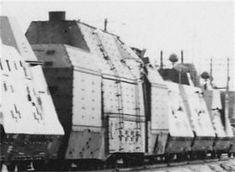 A Panzerzug 61 BP42 armored train.